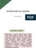 Mikrobiologi Industri - 7.Metabolisme Sel Mikroba