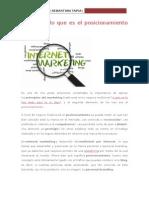 10.-Qué Es El Posicionamiento Web y Para Qué Sirve