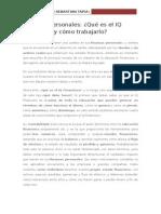 14.- Finanzas Personales Qué Es El IQ Financiero y Cómo Trabajarlo