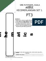 Modul Cemerlang Set 1 matematik pt3