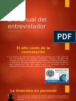 El Manual Del Entrevistador