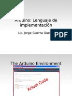 Lenguaje Usado en Arduino