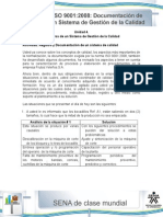 Actividad de Aprendizaje Unidad 4-Registro y Documentacion de Un Sistema de Calidad