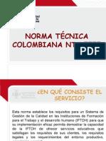 Norma NTC 5555