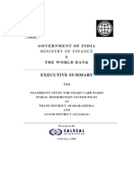 PDS Feasibility Study Noting for FM
