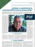 Entrevista a Pepe Torreblanca en Escuela 1/2