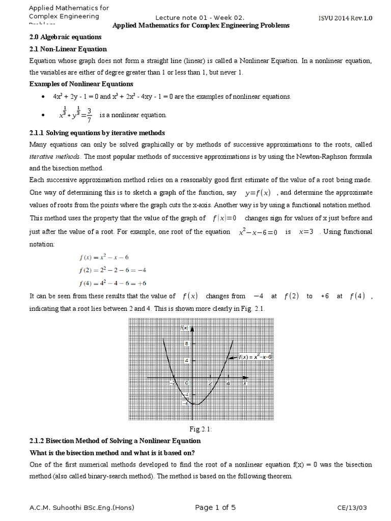Lo2 Algebric Equation | Equations | Matrix (Mathematics)