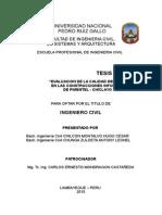 TESIS DE CALIDAD DE CONCRETO