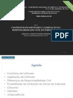 CIBERJUR III - Contratos de Software e a Limitacao Da Responsabilidade Civil Do Fornecedor - Adriano Mendes