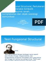 Teori Fungsional Structural, Pertukaran Sosial Dan