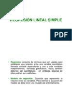 Regresión Lineal Simple [Modo de Compatibilidad]