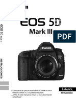 EOS 5D Mark III Instruction Manual ES
