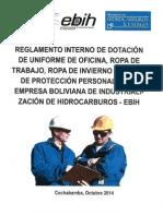 Reglamento Interno Dotacion de Uniforme de Oficina