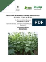 producción de Pepino Bajo Invernadero (Manual)
