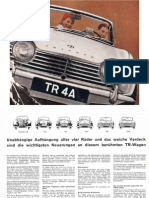 Brochure TR 4A German
