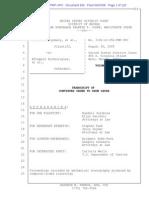 Montgomery v eTreppid # 835 | Aug 20 Doc OSC Hearing Transcript | d.nev. 3-06-Cv-00056 835 Transcript-Aug 20 Osc Hearing