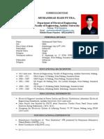 CV MuhammadHadi