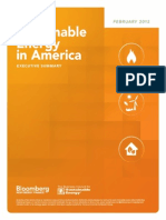 BCSE 2015 Sustainable Energy in America Factbook Executive Summary