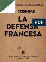 s L CZERNIAK M. La Defensa Francesa [1954] SP 141.pdf