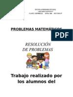 Problemas Matematicos