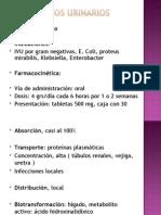 antisépticos urinarios