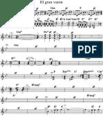 El Gran Varon - Piano