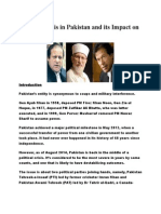 political crisis in pak impact on india
