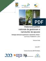 Strategia Nationala de Gestionare a Namolurilor de Epurare-Partea_ I (1).pdf