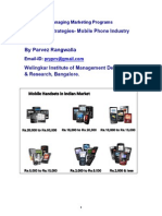 Pricing Strategies Mobile Phone Industry