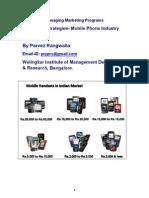 Pricing Strategies Mobile Phone Industry