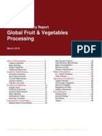 Fruit Vegetable Processing