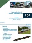 StadlerRail Starlinger Fatigue Design of Railway Vehicle Structures