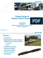 StadlerRail Starlinger Fatigue Design of Railway Vehicle Structures