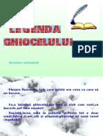 Legenda Ghiocelului