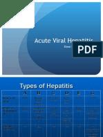 Viral Hepatitis (Virus Hepatitis)