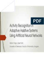Activity Recognition in Adaptive Assistive Systems Using Artificial Neural Networks.ppt