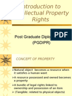 Introduction to IPR (25Mar05)