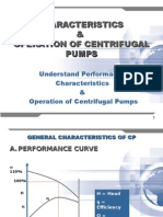 Characteristics & Operation of Centrifugal Pumps