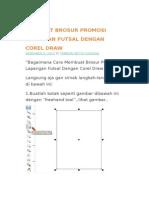 Membuat Brosur Promosi Lapangan Futsal Dengan Corel Draw