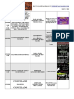 calendario metalcanario MAYO - 2010