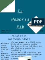 La Memoria RAM(Omar)