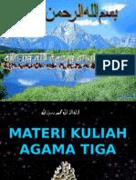 Agama 3- Hukum Waris -Wasiat Shadakah, Wakaf-2011
