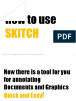 How to use Skitch