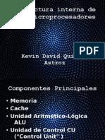 Estructura Interna de Los Microprocesadores