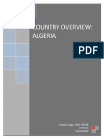 Algeria - Country Analysis