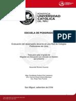 Romero Huaman Alexander Evaluacion Docente