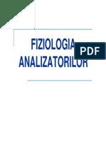 Fiziologie c14 - Fiziologia Analizatorilor