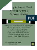 CRP Mental Health Needs Assessment Report - FINAL