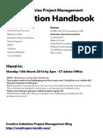 CIPM Production Handbook