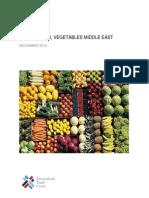 Middle East Fruits and Vegetables December 2014